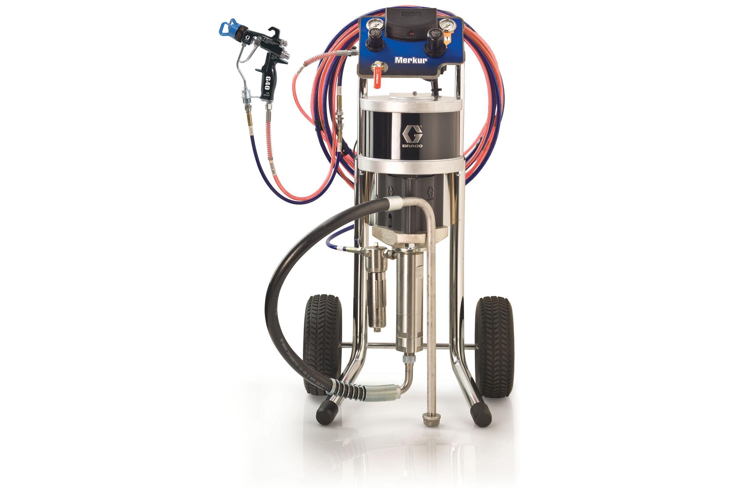 Merkur Air-Assisted Airless Spray System